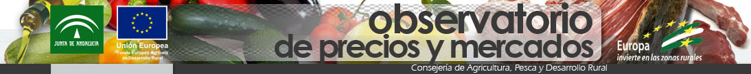 Consejera de Agricultura, Pesca y Medio Ambiente. Observatorio de Precios y Mercados