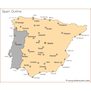 Show Cities in Spain Image