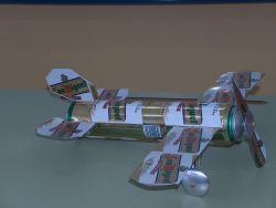 reciclado avión