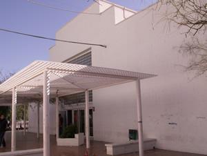 entrada al centro