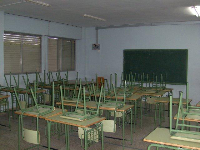 aulas de 1º y 2º