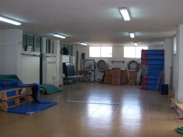 interior del gimnasio