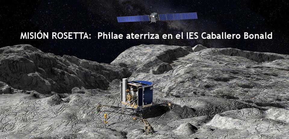 Enlace a Misión Rosetta