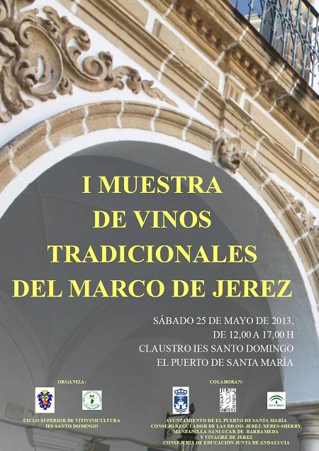 2012-2013 Cartel I Muestra de Vinos Tradicionales