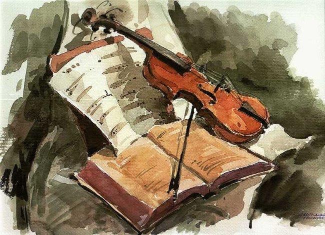 Este panel sirve para... Violin_libro_y_partitura_Musica