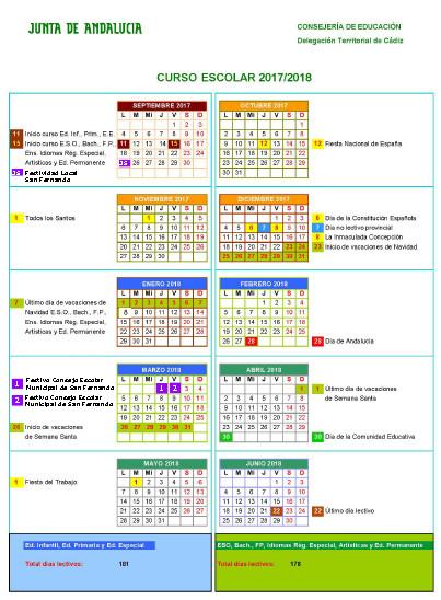 CalendarioEscolar1718