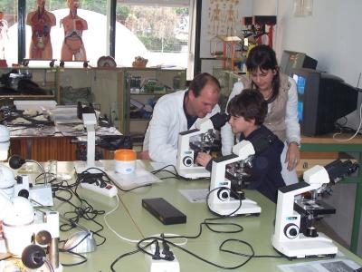 Observación de Laboratorio realizada por Jornada Puertas Abiertas 2008