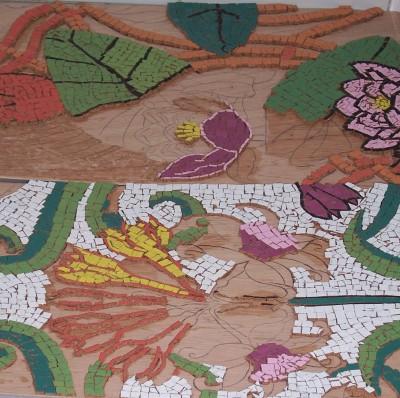 Visita al Aula de Dibujo con motivo de la Jornada de Puertas Abiertas 2008