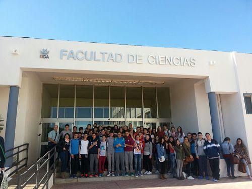 Excursión a la UCA para la celebración de la Fiesta de la Ciencia
