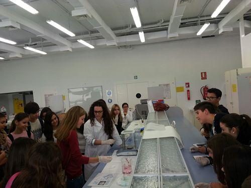 Excursión a la UCA para conocer las carreras de Ciencias.