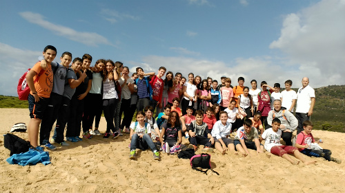 Excursión del alumnado de 1º ESO a Bolonia y Baelo Claudia. Octubre 2015