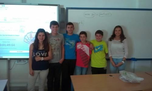 Finalistas en la Internacional del Campeonato de Cálculo Mental
