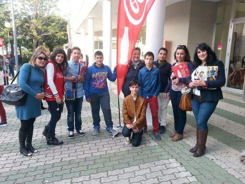 Asistentes al Concurso Coca-Cola 2015