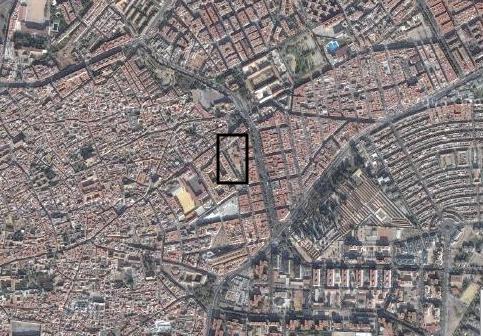 vista aérea del colegio