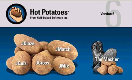Menu de las HotPotatoes