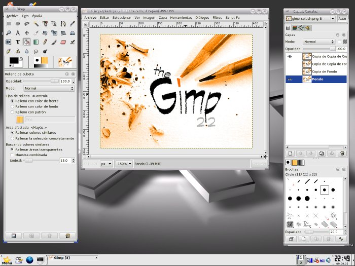 Editar Imagen Con Gimp