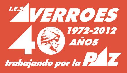 Logotipo del 40 aniversario por la Paz