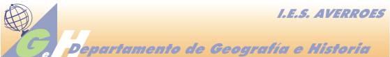 Logo dpto. Geografía e Historia