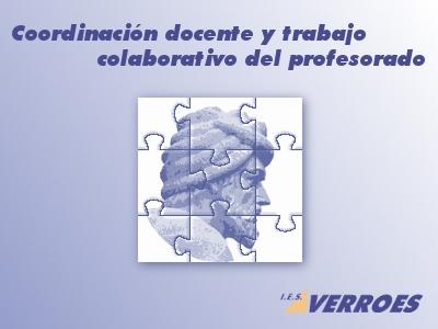 Coordinación docente y trabajo colaborativo del profesorado