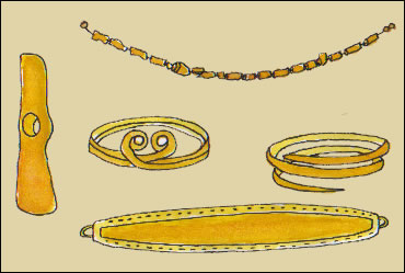 Tras las huellas de nuestros or genes - Objetos fabricados con cobre ...