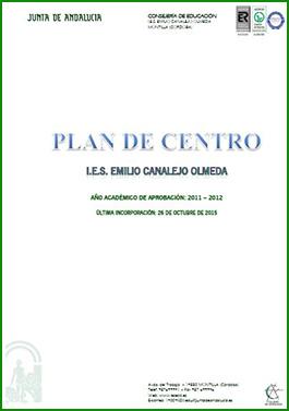 Portada Plan de Centro