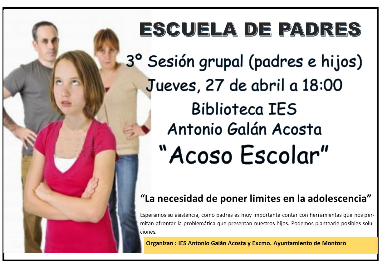 Escuela de padres - 3º sesion curso 1617