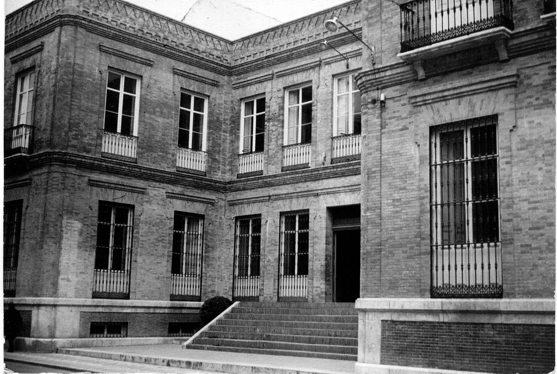Antiguo edificio del instituto de la calle Rio