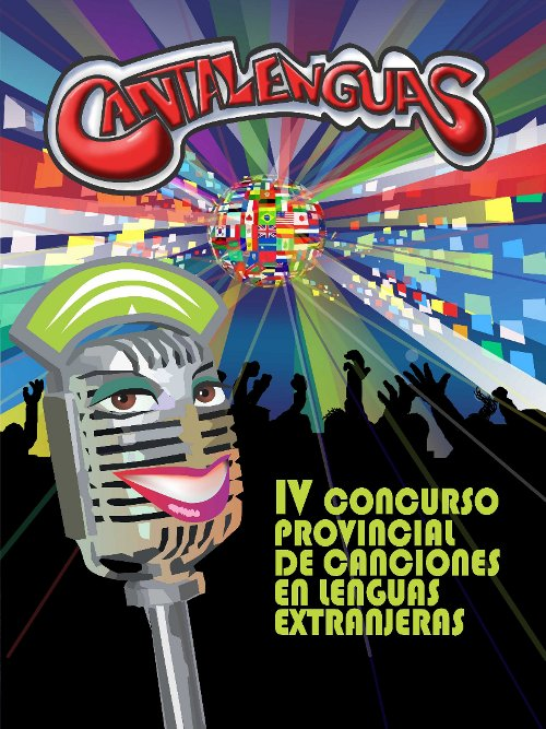 Cartel concurso cantalenguas