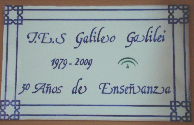Azulejo conmemoracion 30 aniversario