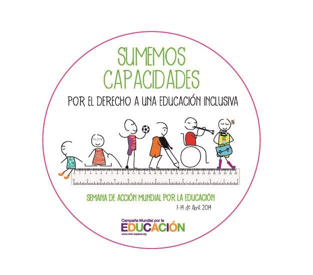 Lema de la Campaña Mundial por la Educación 13-14