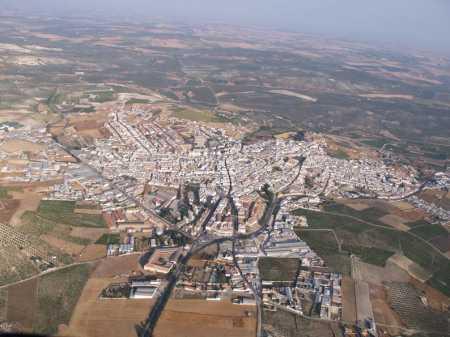 Vista aérea Aguilar de la Frontera