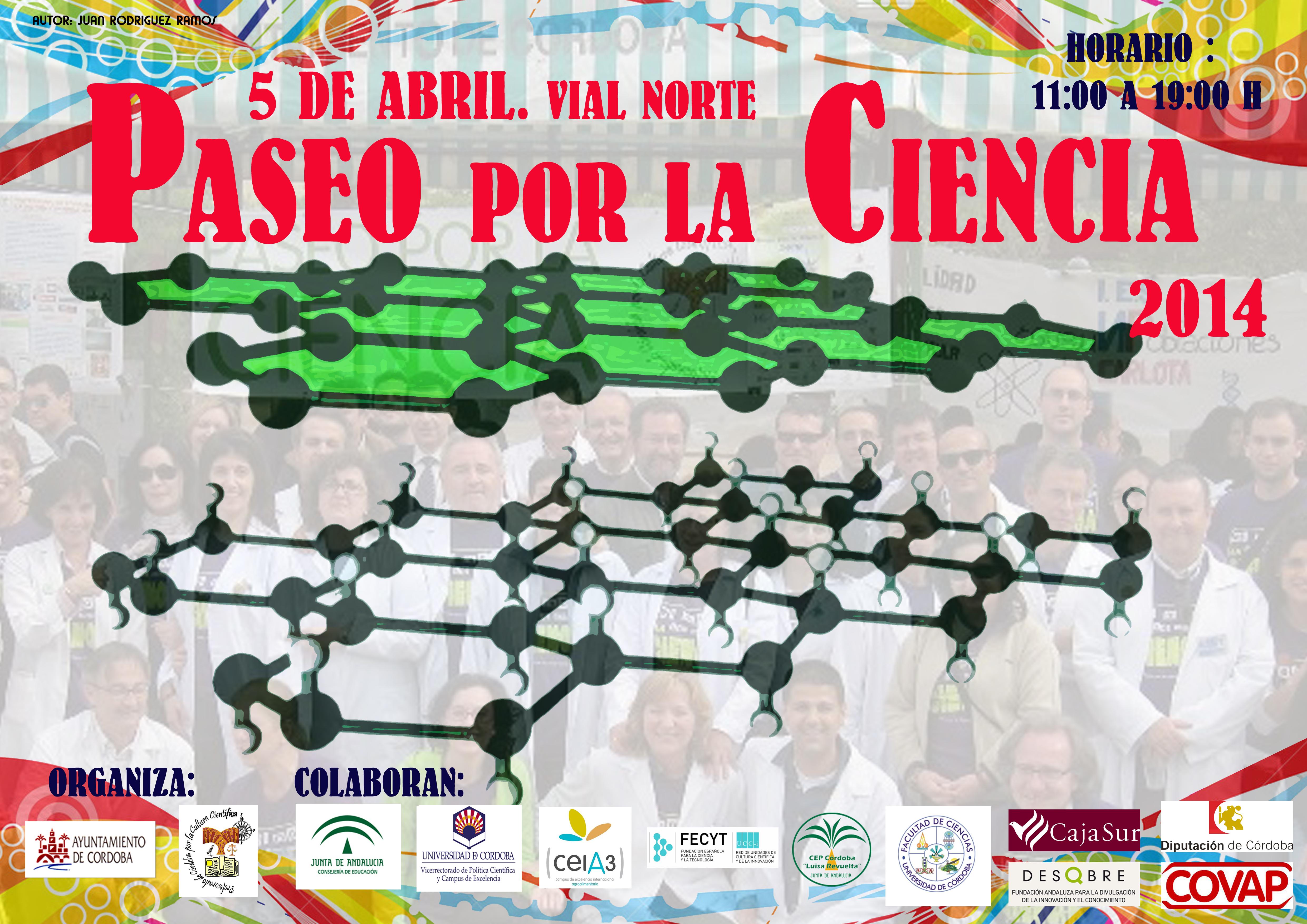 Cartel de Paseo por la Ciencia 2014