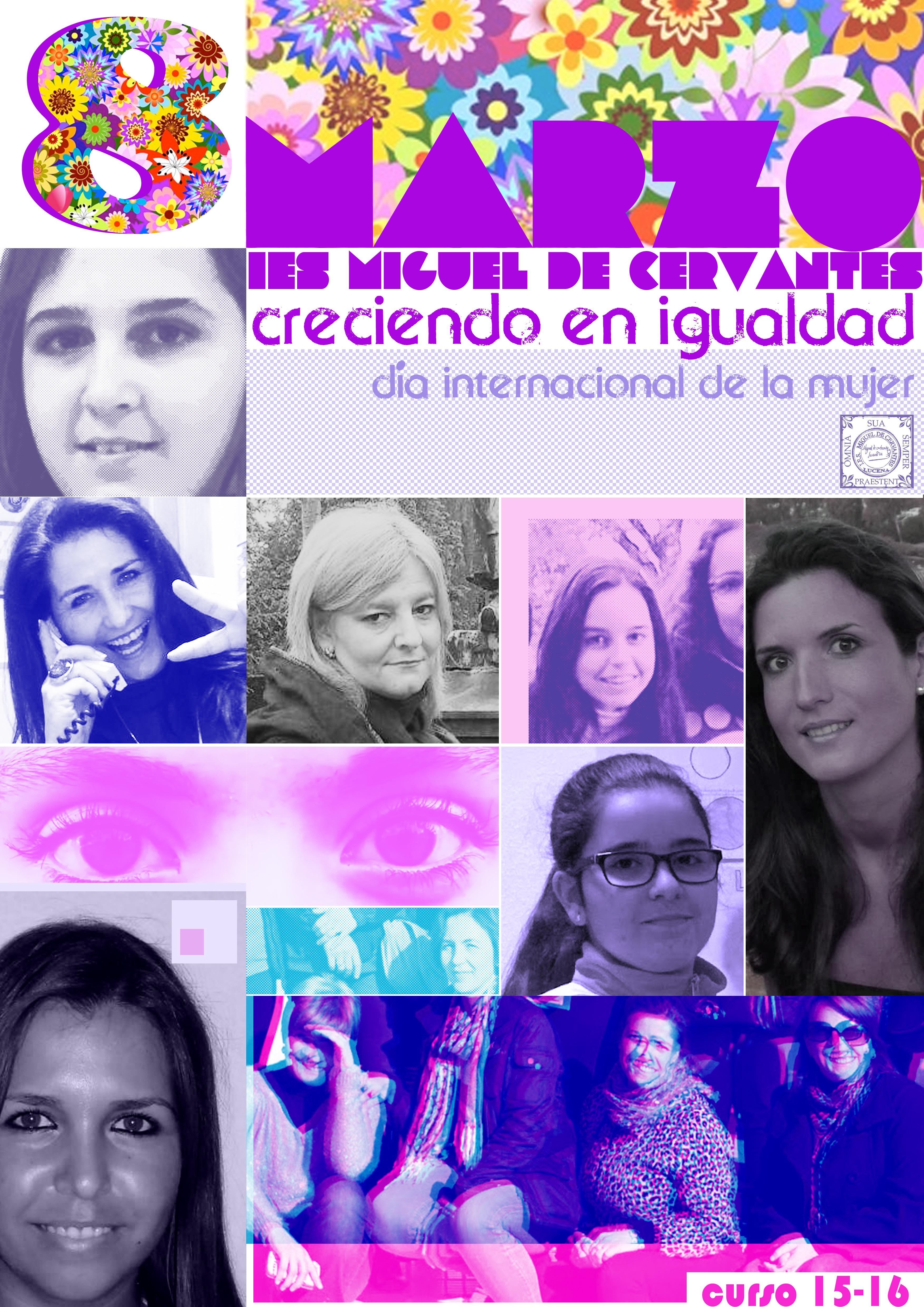 cartel del dia de la mujer 2016