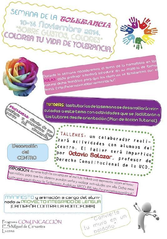 cartel semana de la toleranvia