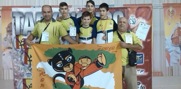 campeon de taekwondo