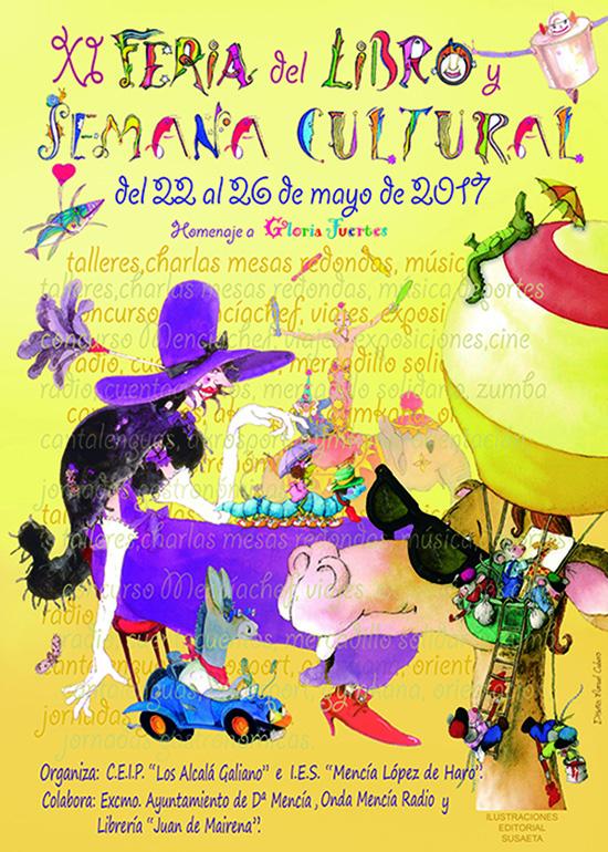 Cartel XI Feria del libro