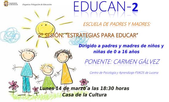 Cartel Escuela de Padres 2