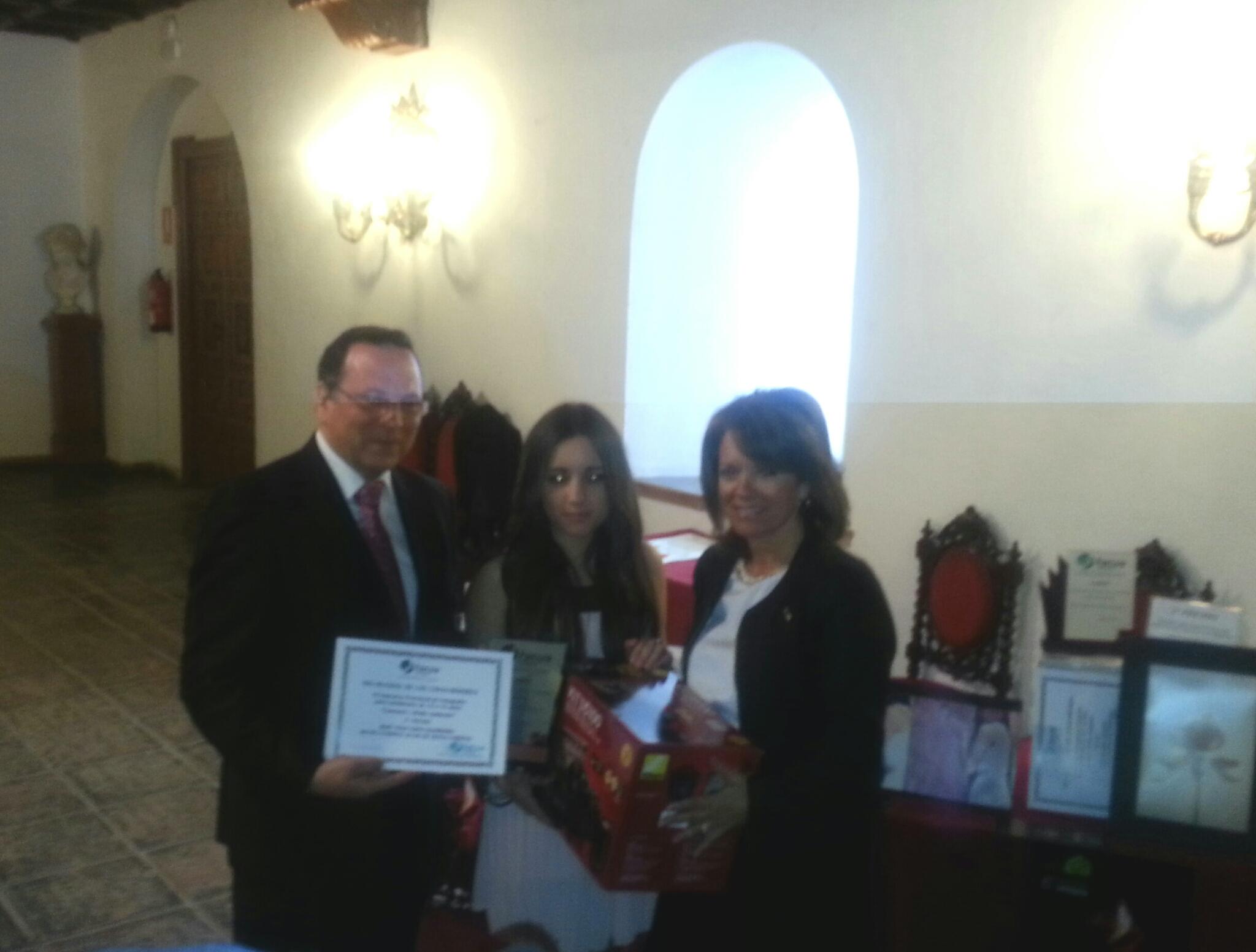 198374e6317 La alumna Mª TRINIDAD TAPIA GUERRERO de 3ºB se proclama ganadora del 2º  premio en el 5º Concurso Provincial de Fotografía para estudiantes de 12 a  18 años.