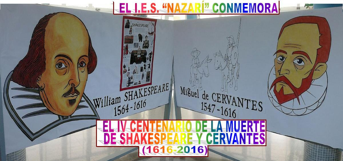 CERVANTES Y SHKESPEARE