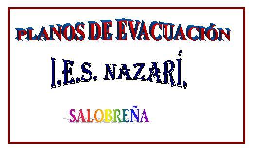 PLANOS DE EVACUACIÓN DEL IES