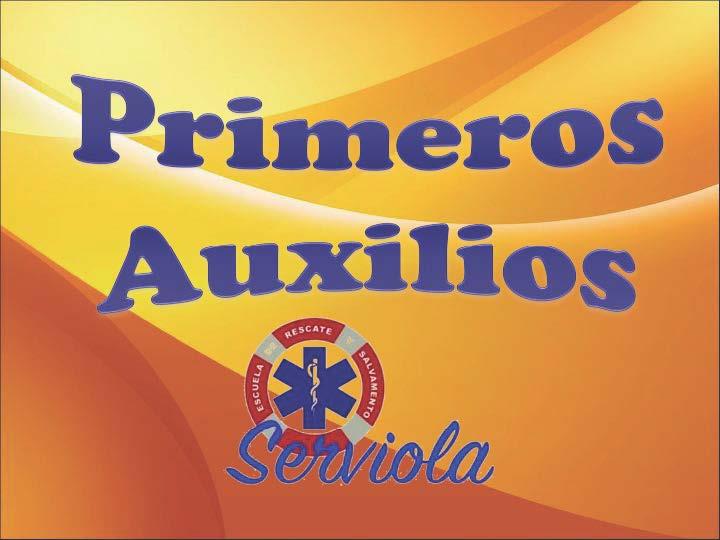 PRIMEROS AUXILIOS 1. portada