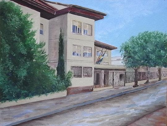 Pintura de la fachada principal