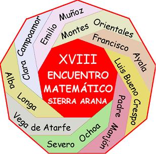 Logo Encuentro Matemático Sierra Arana Abril 2018