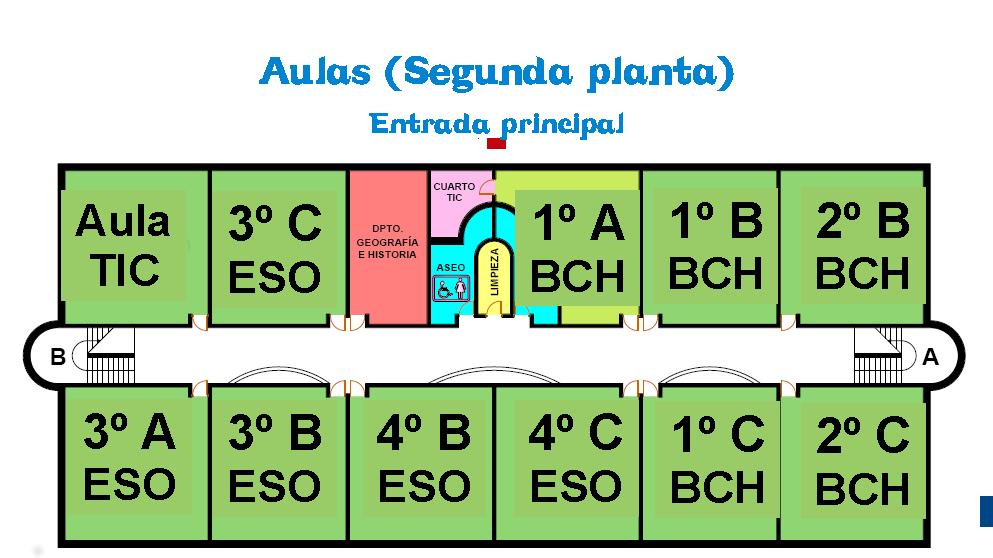 Plano Segunda Planta