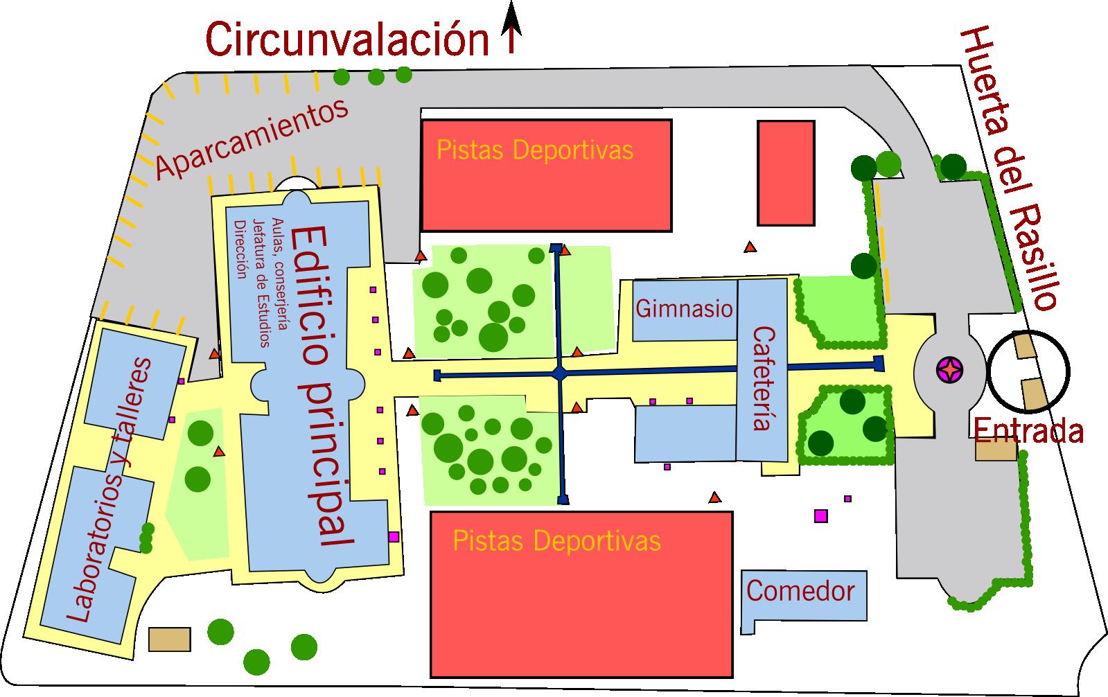 Plano general del IES