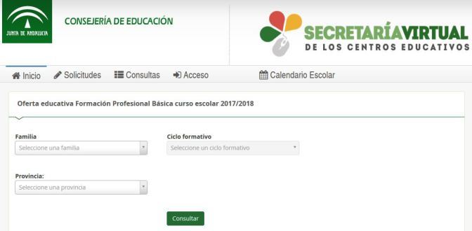 Oferta Educativa Formacion Profesional