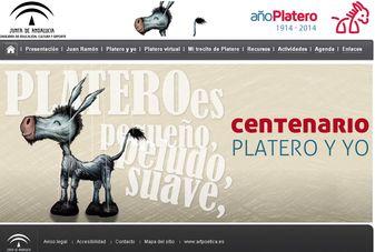 """Portal Educativo """"Centenario Platero y yo"""""""