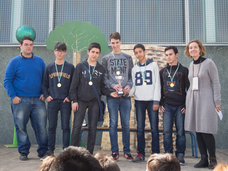 El IES Alonso Sánchez ganó el III Torneo Chess Machine