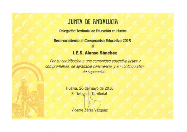 Premio al Compromiso Educativo
