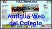 Antigua web del Colegio